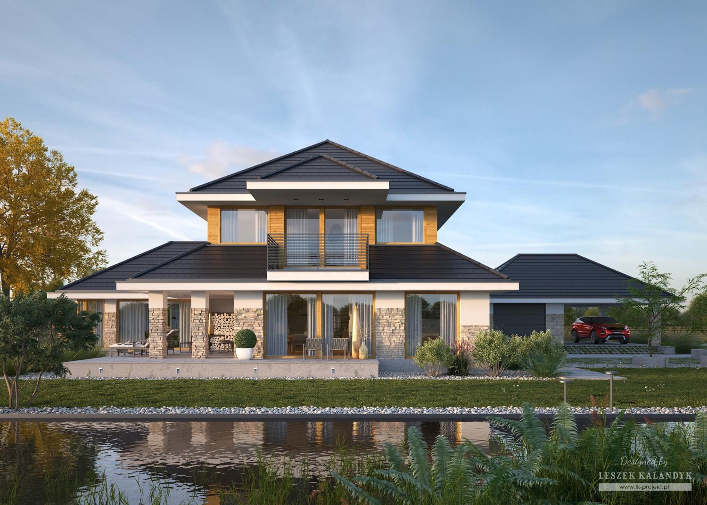 Projekt domu LK&1386