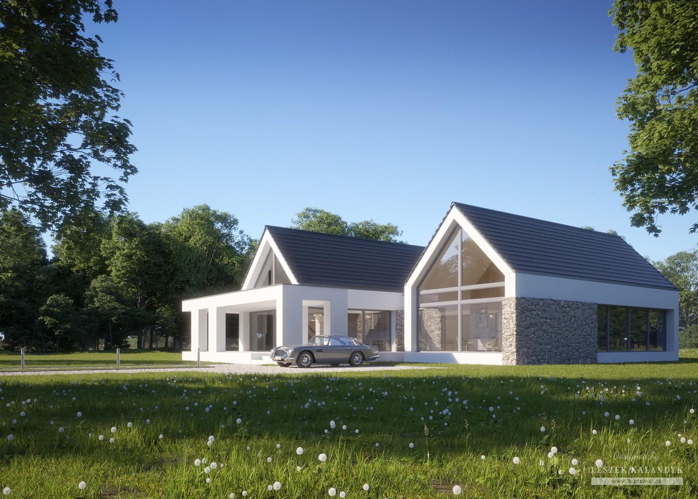 Projekt domu LK&1396