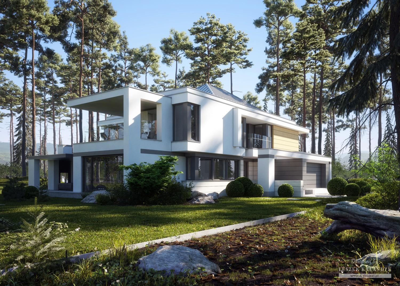 Projekt domu LK&1391