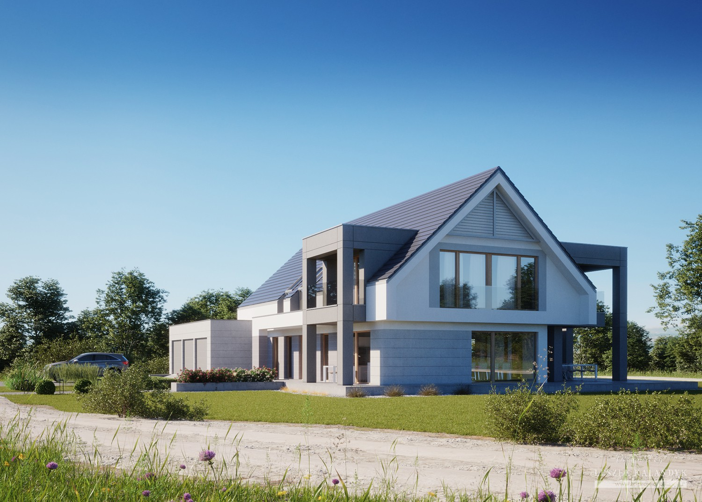 Projekt domu LK&1347