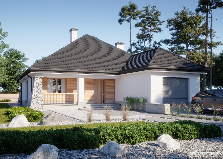 Projekt domu LK&877