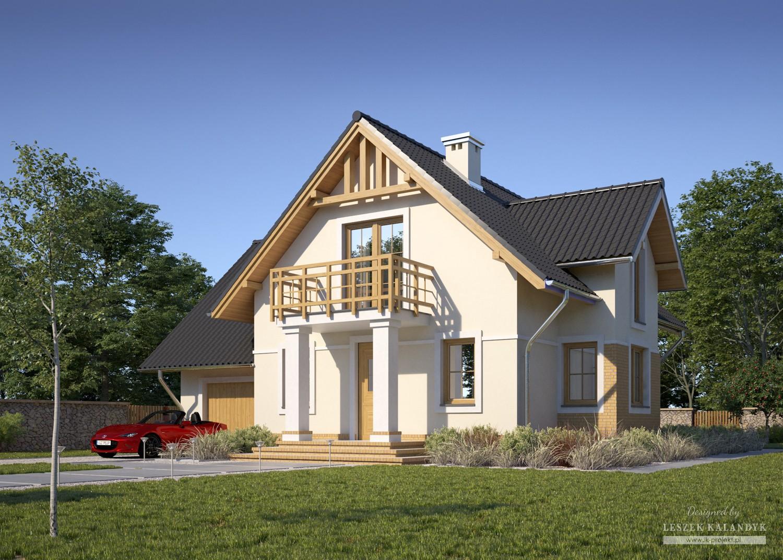 Projekt domu LK&591