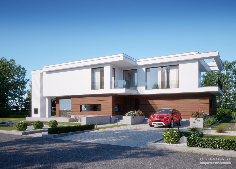 Projekt domu LK&1408