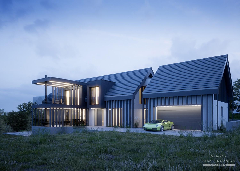 Projekt domu LK&1405