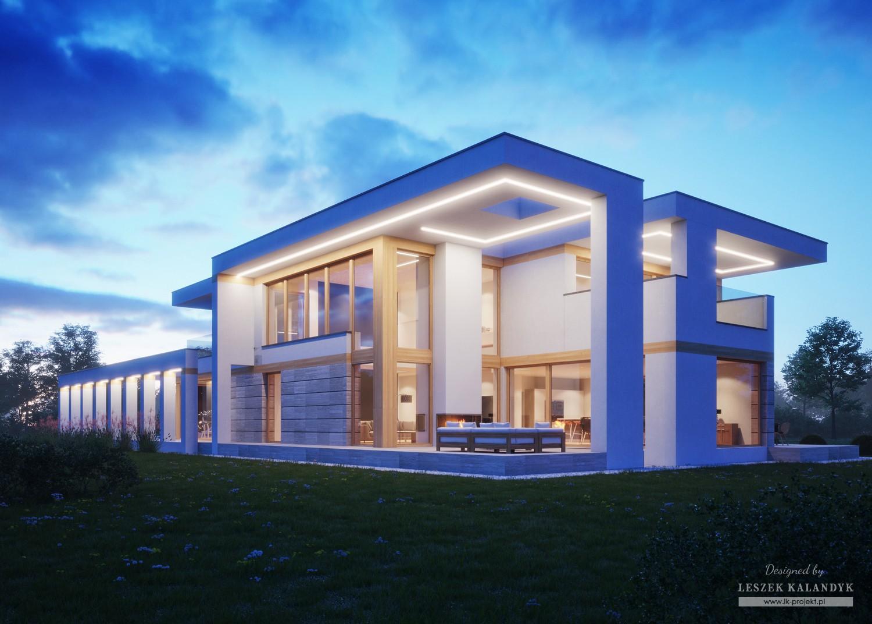 Projekt domu LK&1414