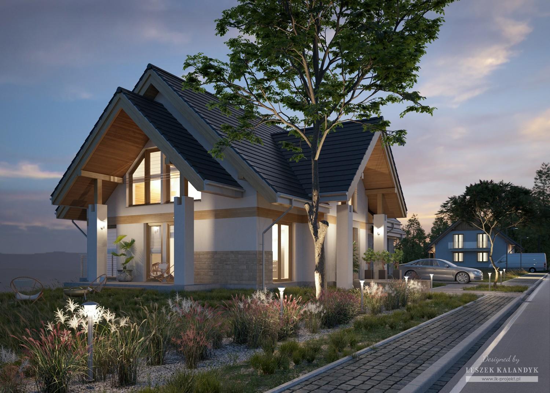 Projekt domu LK&1419