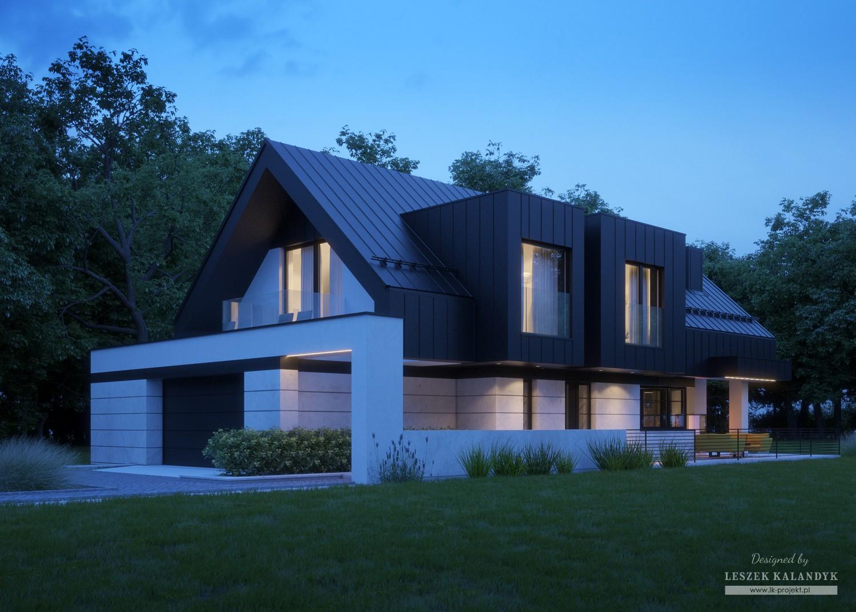Projekt domu LK&1437
