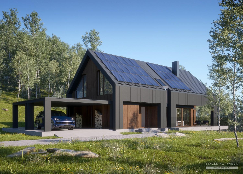 Projekt domu LK&1477
