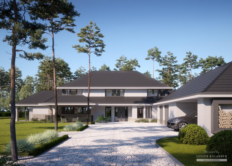 Projekt domu LK&1435