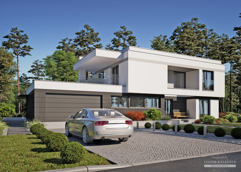Projekt domu LK&1429