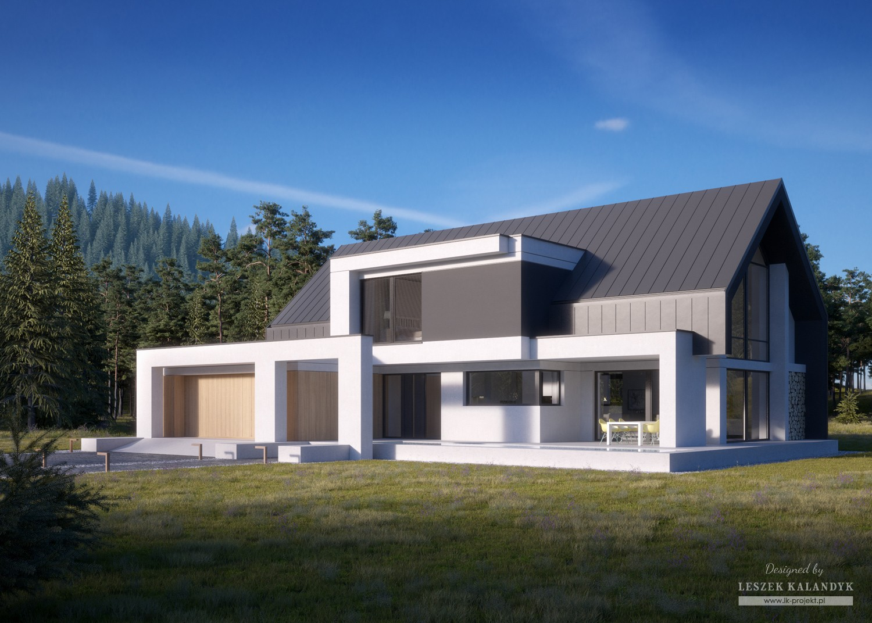 Projekt domu LK&1464