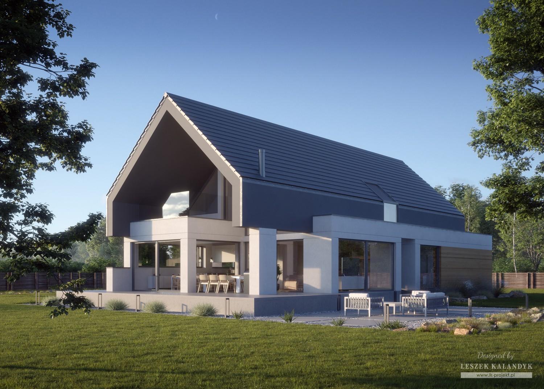 Projekt domu LK&1470