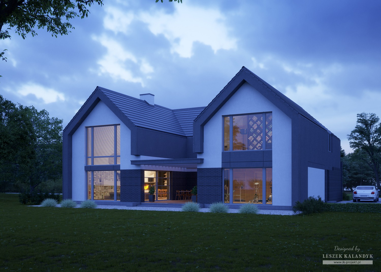 Projekt domu LK&1483