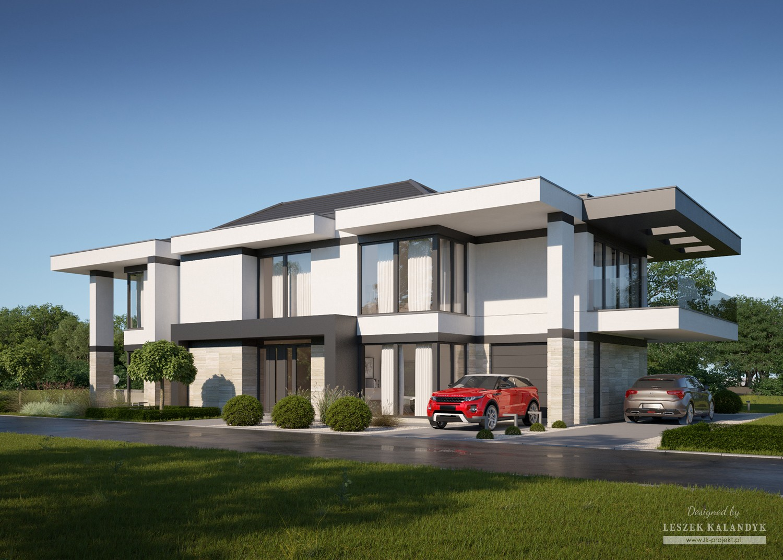 Projekt domu LK&1337