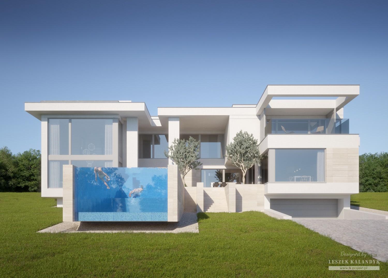 Projekt domu LK&1495
