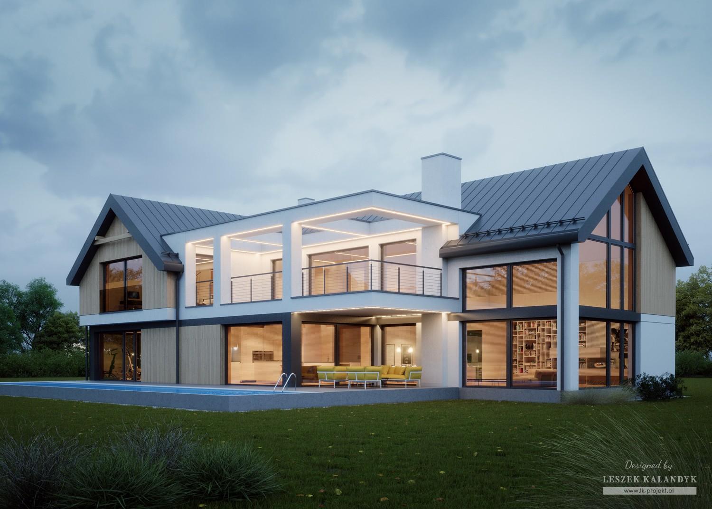 Projekt domu LK&1524