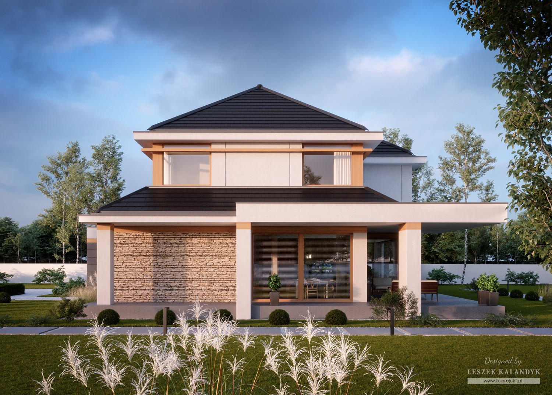 Projekt domu LK&1518
