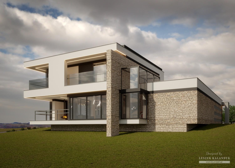 Projekt domu LK&1538
