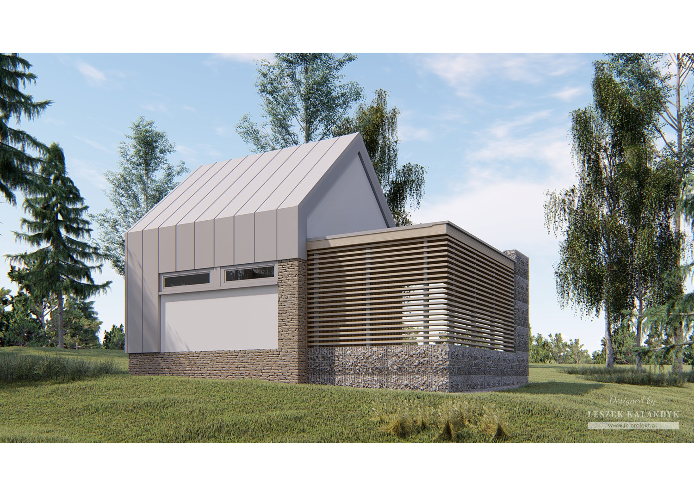 Projekt domu LK&1541
