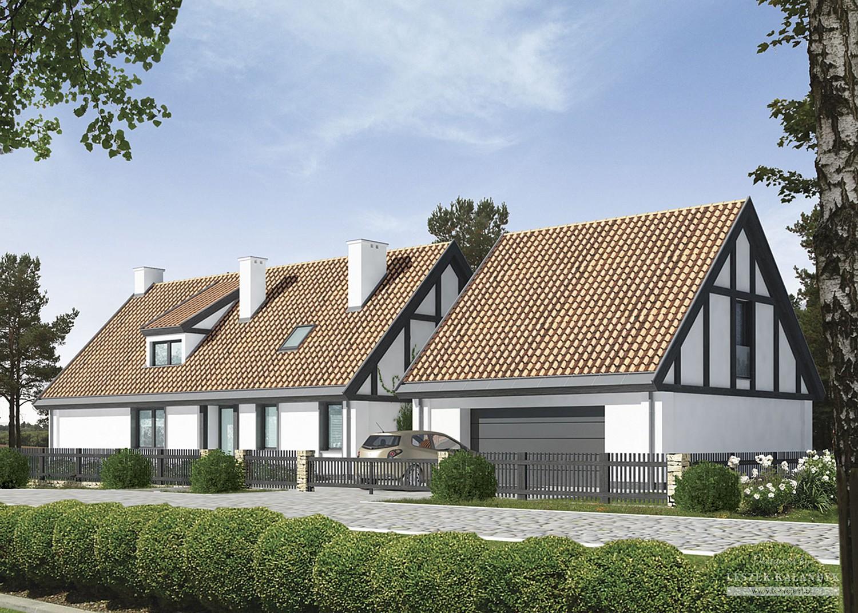 Projekt domu LK&849