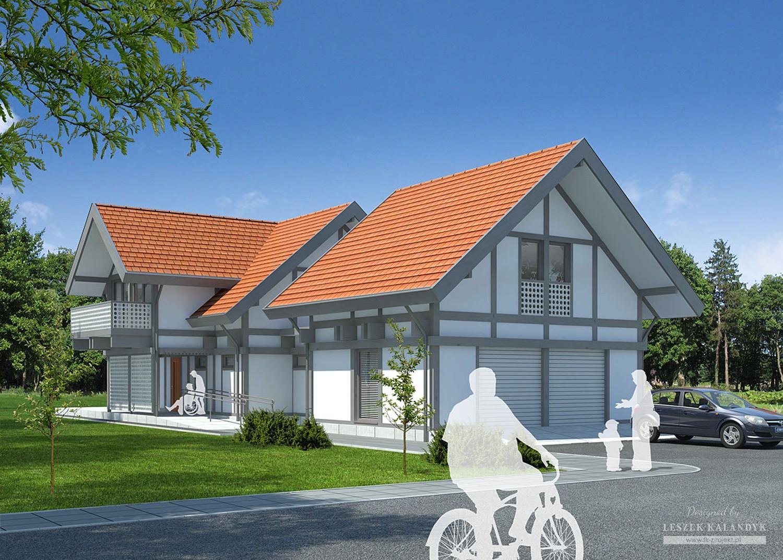 Projekt domu LK&848