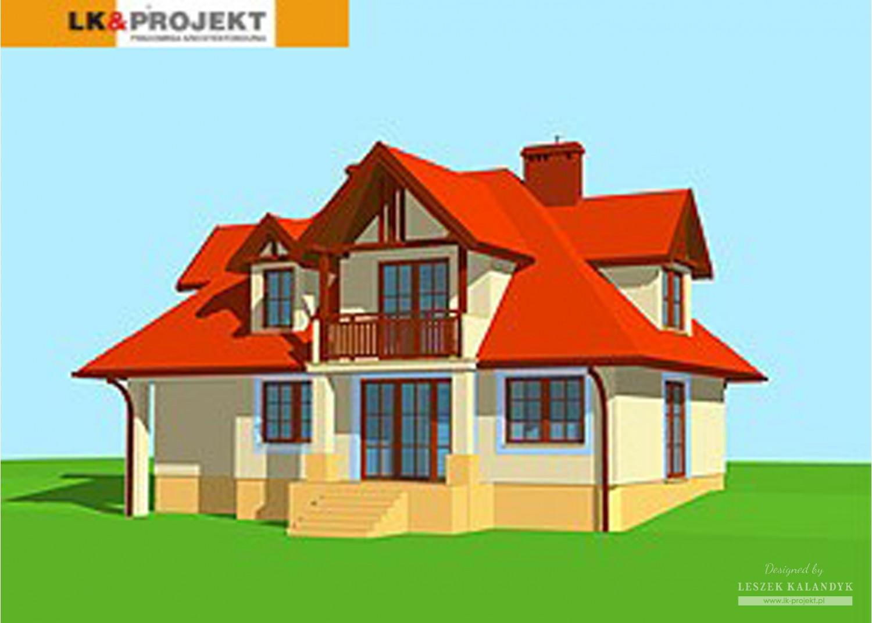 Projekt domu LK&165
